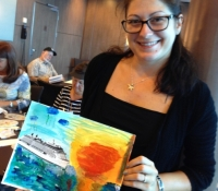 Marcie-Bronstein-watercolor-celebrity-solstice-4