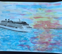 Marcie-Bronstein-watercolor-celebrity-solstice-5