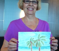Marcie-J-Bronstein-watercolor-CelebritySolstice-painting