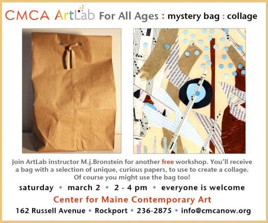 CMCA ArtLab Bronstein mystery collage