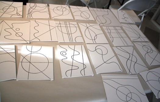 MJ Bronstein CMCA ArtLab Geometric painting 11
