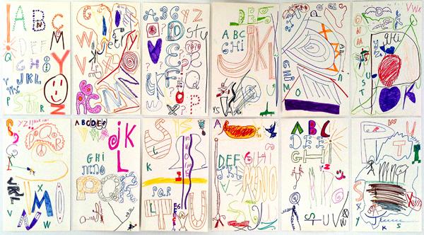 M J Bronstein-collaborative alphabet-artlab