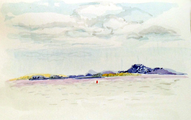 M.J. Bronstein_Belfast, Maine_watercolor-sea