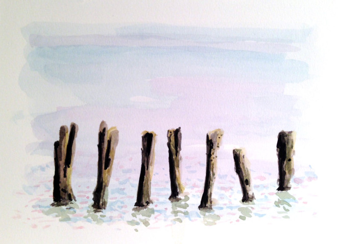 m J bronstein- watercolor-Maine sea 3 copy
