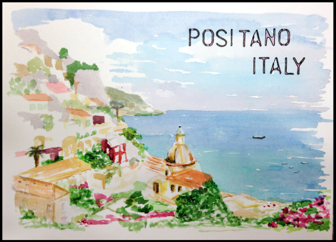 positano-mj.bronstein-watercolor