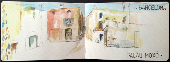 Barcelona_MJBronstein_Watercolor