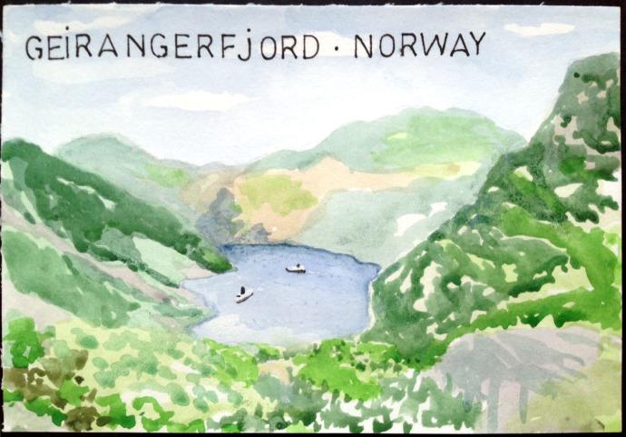 Bronstein_GeirangerFjord_watercolor