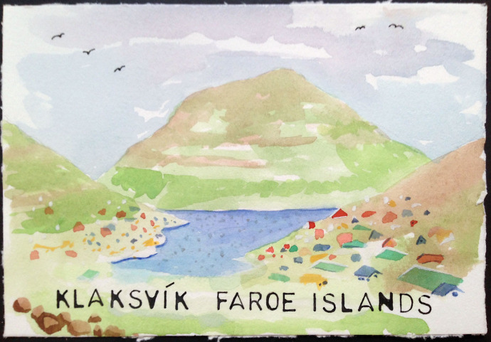 Klaksvik_Bronstein_Watercolor