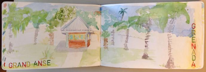 Grenada-watercolor-M.J.-Bronstein