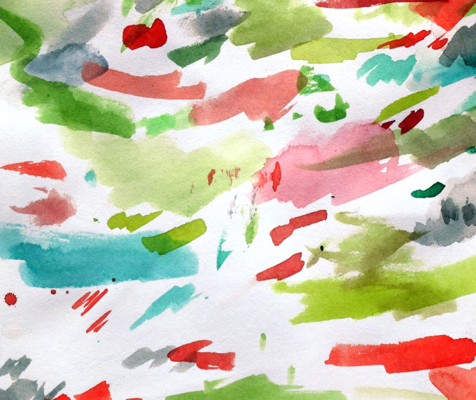M.J.Bronstein-watercolor-red-green-2015