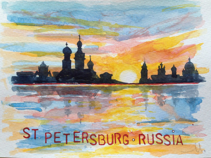 st.petersburg-bronstein-watercolor