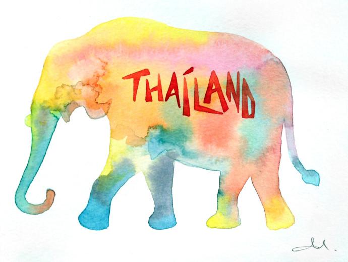 elephant-thailand-mattinablue