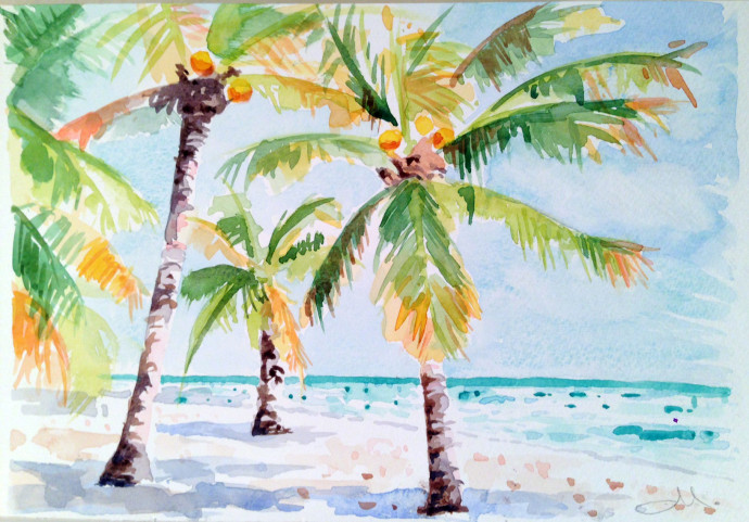 watercolor-mattinablue-palm